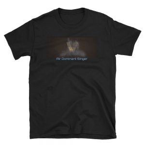 Air Dominant Singer Black T-Shirt