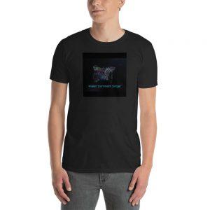 Water Dominant Singer Black T-Shirt