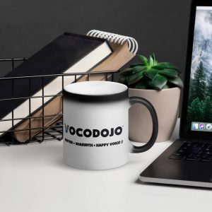 Vocodojo Matte Black Magic Mug